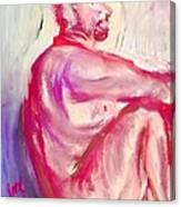 The Devil Meditates Canvas Print