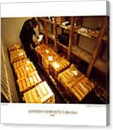 Anthony Howarth Collection - Gold- The Diligent Clerk Canvas Print