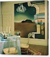 The Dining Room Of Princess Gourielli Canvas Print