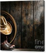 The Dirty Hat Canvas Print