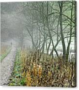 The Disappearing Man - Wolfscote Dale Canvas Print