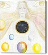 The Discovery Of The Cosmic Spirit Canvas Print