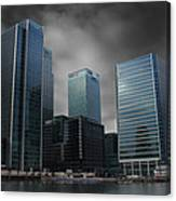 The Docklands Canvas Print