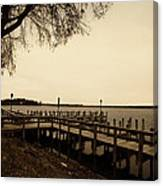 The Docks On Lake Minnetonka Canvas Print