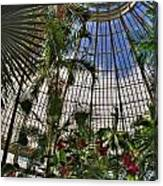 The Dome 002 Buffalo Botanical Gardens Series Canvas Print