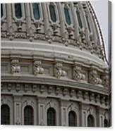 The Dome Of The Capitol Canvas Print