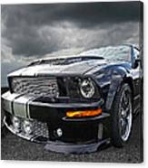 The Dominator - Cervini Mustang Canvas Print
