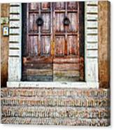 The Door At Number 5 Canvas Print