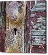The Door Knob Canvas Print