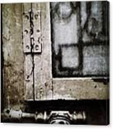 The Door Of Belcourt Canvas Print