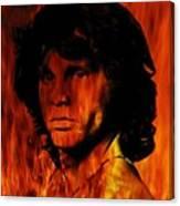 The Doors Light My Fire Canvas Print