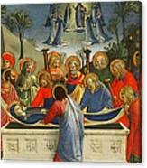 The Dormition Of The Virgin Canvas Print