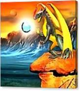 The Dragon Lands Canvas Print