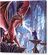 The Dragons Lair Canvas Print