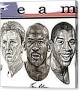 the Dream Team Canvas Print