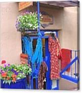 The Dress Shop - New Mexico Canvas Print