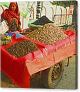 The Dried Fruit Seller Canvas Print