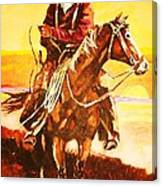 The Drover Canvas Print