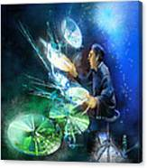 The Drummer 01 Canvas Print