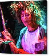 The Drummer Canvas Print