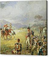 The Duel  Fair Play Canvas Print