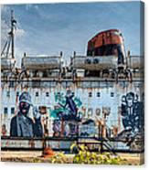 The Duke Of Graffiti Canvas Print