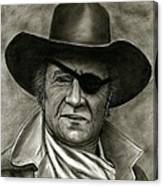 The Duke - Rooster Cogburn Canvas Print