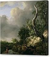 The Dunes Near Haarlem Canvas Print