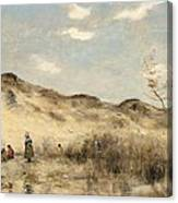 The Dunes Of Dunkirk Canvas Print