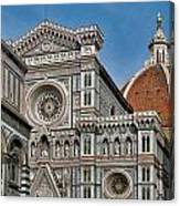 The Duomo And Baptistery Of St. John Canvas Print