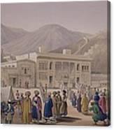 The Durbar-khaneh Of Shah Canvas Print