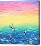 Sea To Sky Canvas Print