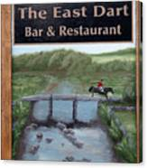 The East Dart Canvas Print