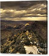 The Eastern Rim Of The Grand Canyon Canvas Print