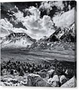 The Eastern Sierra Canvas Print