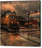 The Eight Ten Rolling Through Canvas Print