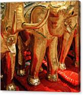 The Elephant Shrine Canvas Print