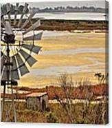 The Elkhorne Slough In California Canvas Print
