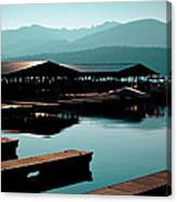 The Elkins Boathouse On Priest Lake Canvas Print
