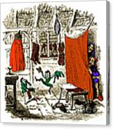 The Elves And The Shoemaker Canvas Print