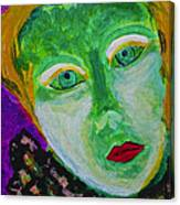 The Emerald Lady Canvas Print