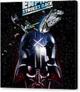 The Empire Strikes Back Phone Case Canvas Print