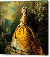 The Empress Eugenie Canvas Print