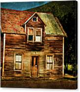 The Empty House Canvas Print