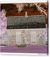The Enchanted Cottage Canvas Print