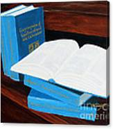 The Encyclopedia Of Newfoundland And Labrador - Joeys Books Canvas Print