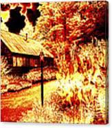 When The World Burns  Canvas Print