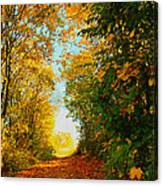 The End Of The Road. Canvas Print