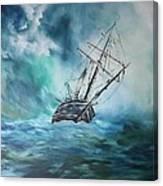 The Endurance At Sea Canvas Print