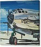 The Enola Gay Resting At Tinian Canvas Print